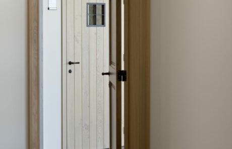 Landelijke deuren hal