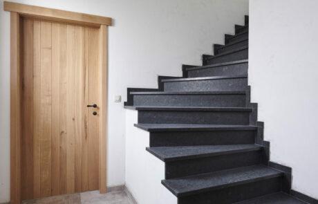 Landelijke deur hal